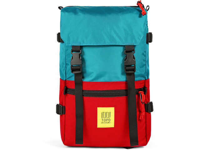 Topo Designs Rover Sac, turquoise/red